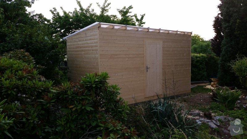 Výroba dřevěnného zahradního domku 2,3mx4,6m: 2014-06-09_18.59.17