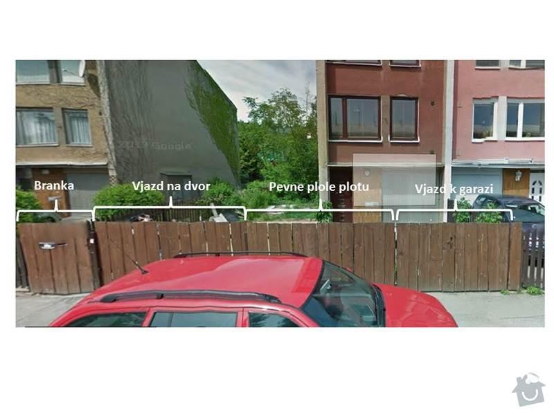 Stavba plotu, 2 automaticke brany : poptavka_plot1