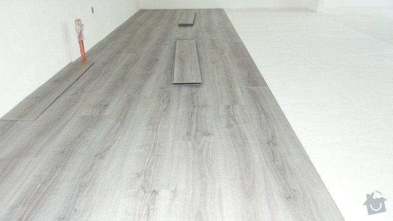 Pokládka vinylové podlahy Floor Forever Primero Click - Čebín.: DSC04530