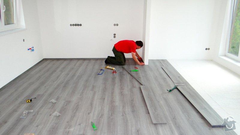 Pokládka vinylové podlahy Floor Forever Primero Click - Čebín.: DSC04534