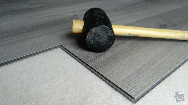 Pokládka vinylové podlahy Floor Forever Primero Click - Čebín.: DSC04542