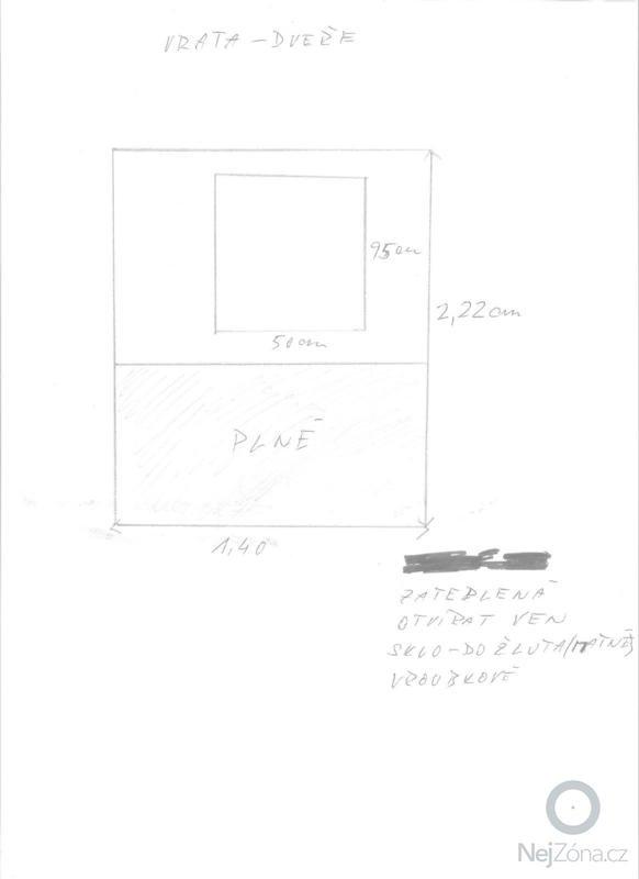 Dřevěná dvoukřídlá a jednokřídlá vrata: Vrata_001