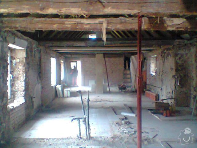 Renovace dřevěného stropu: Fotografie1472