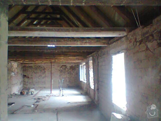 Renovace dřevěného stropu: Fotografie1467