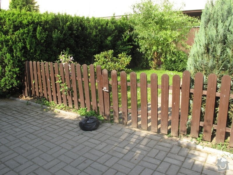 Výměna plotu, box na kola, schůdky na zahradu, madla: IMG_1555