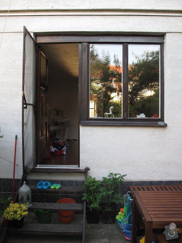 Výměna plotu, box na kola, schůdky na zahradu, madla: IMG_1547