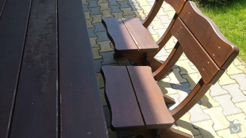 Lakýrnické práce - nátěr plotových latěk: 20140611_124906