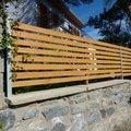 Automaticka kridlova brana a branka plot