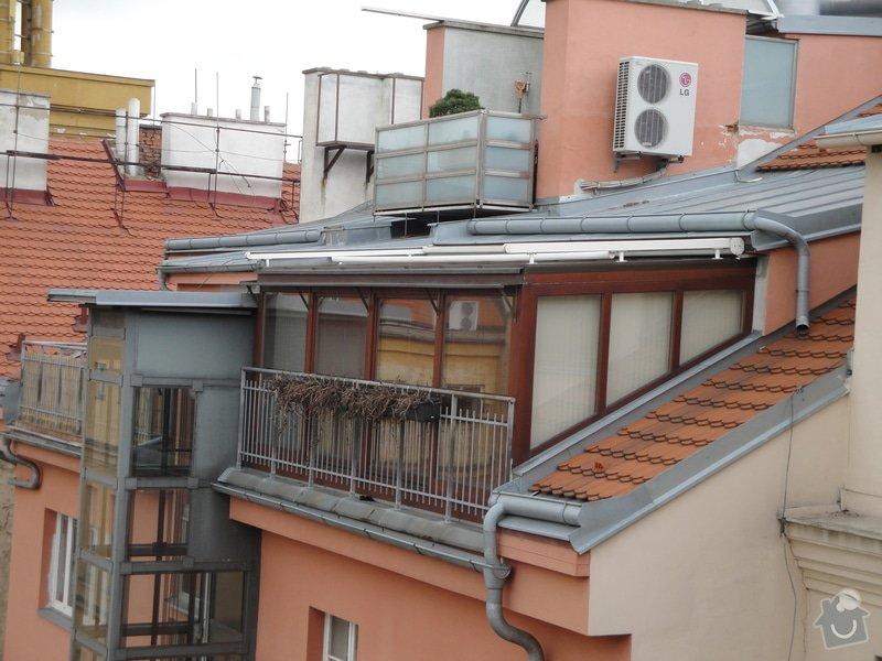 Zimni zahrada z terasy na dome Praha: DSC03810