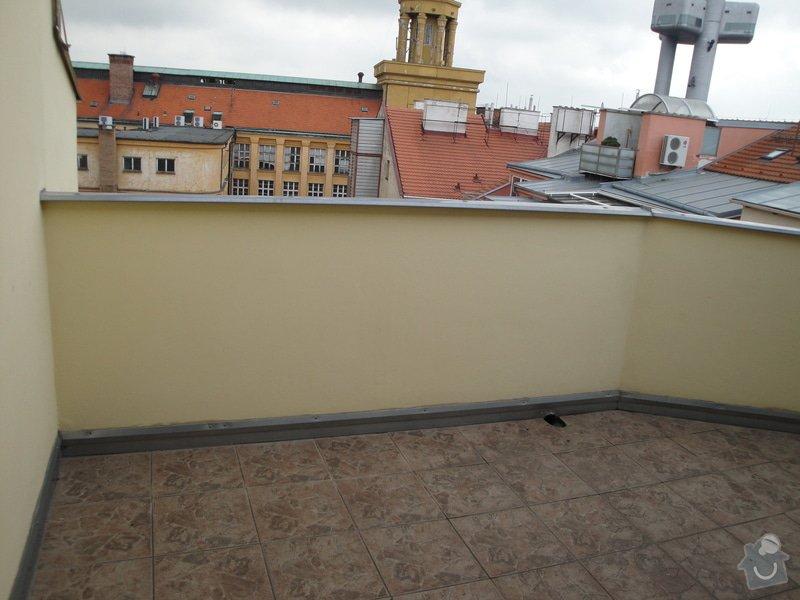 Zimni zahrada z terasy na dome Praha: DSC03811