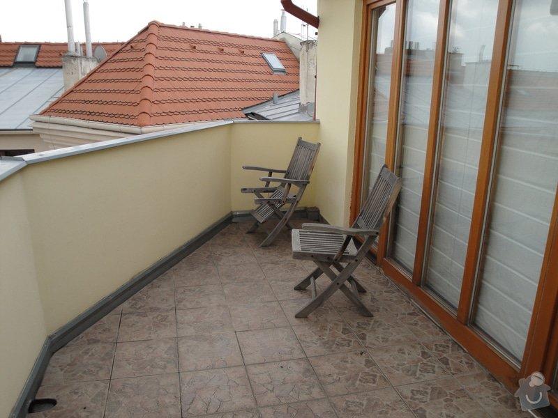 Zimni zahrada z terasy na dome Praha: DSC03813