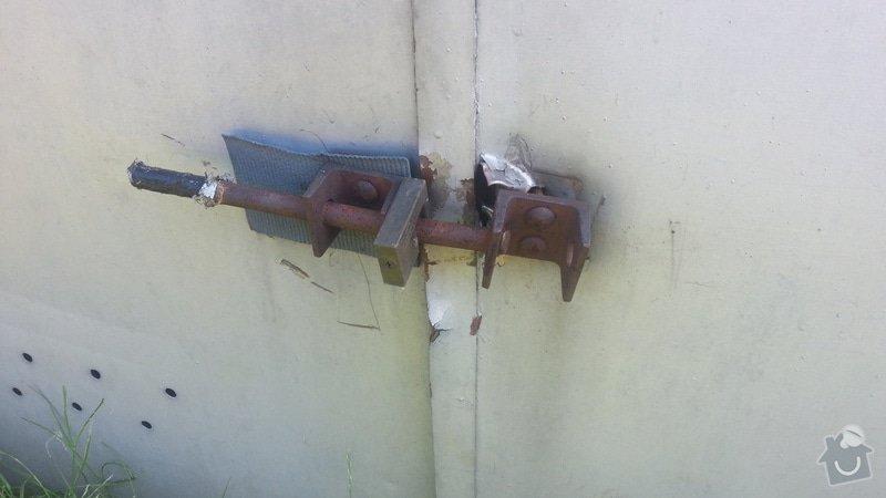 Oprava Garazovych vrat - zamecnicke prace: 20140612_164751
