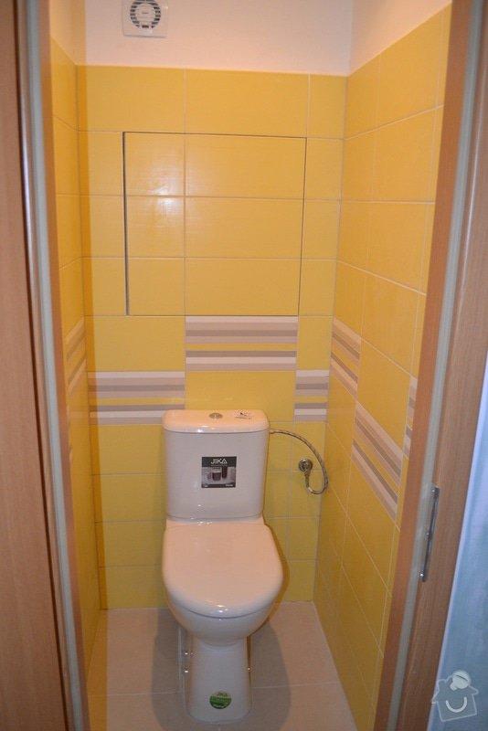 Rekonstrukce bytového jádra vč. WC a koupelny v panelovém bytě. : DSC_0282