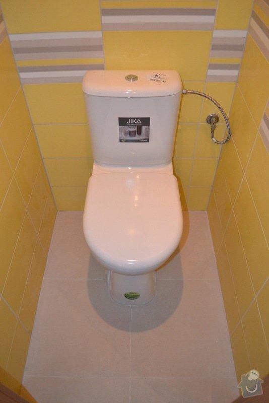 Rekonstrukce bytového jádra vč. WC a koupelny v panelovém bytě. : DSC_0283