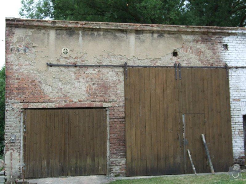Demontáž střechy stodoly : Sobechlebska_028