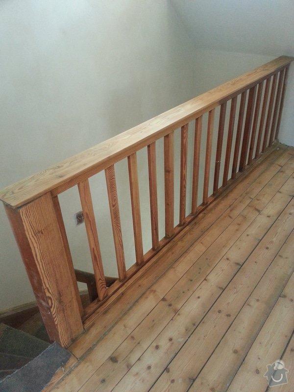 Renovace dřevěných schodů: 20140614_154131