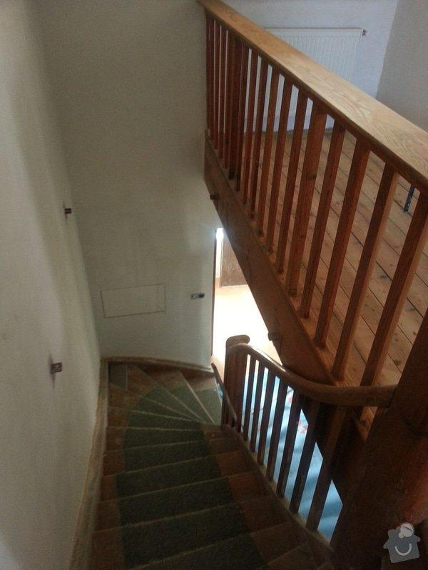 Renovace dřevěných schodů: 20140614_154204