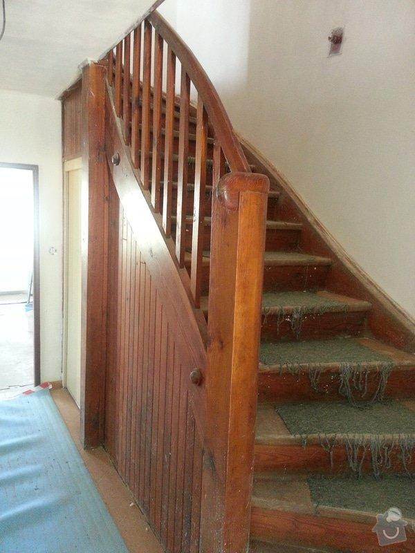 Renovace dřevěných schodů: 20140614_154241