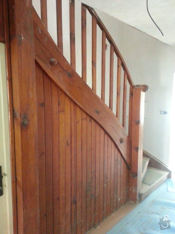 Renovace dřevěných schodů: 20140614_154315