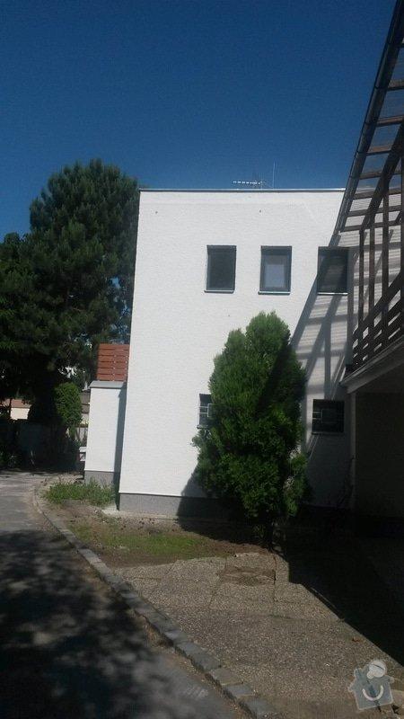Nátěr břizolitové fasády: 20140609_163137