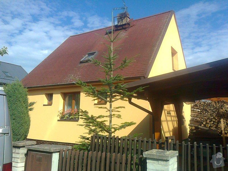 Výměna střešní krytiny na RD u Prahy: fotografie1862