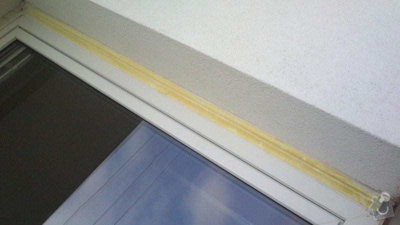 Servis oken, sítě proti hmyzu, oprava napojení oken na zateplenou fasádu: Krivdovi_Celakovice_PRED_1