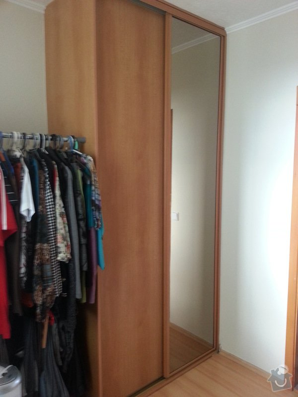 Truhlářské práce - vestavěnou skříň + úložný prostor pod postel + drobné opravy: 20140615_170224
