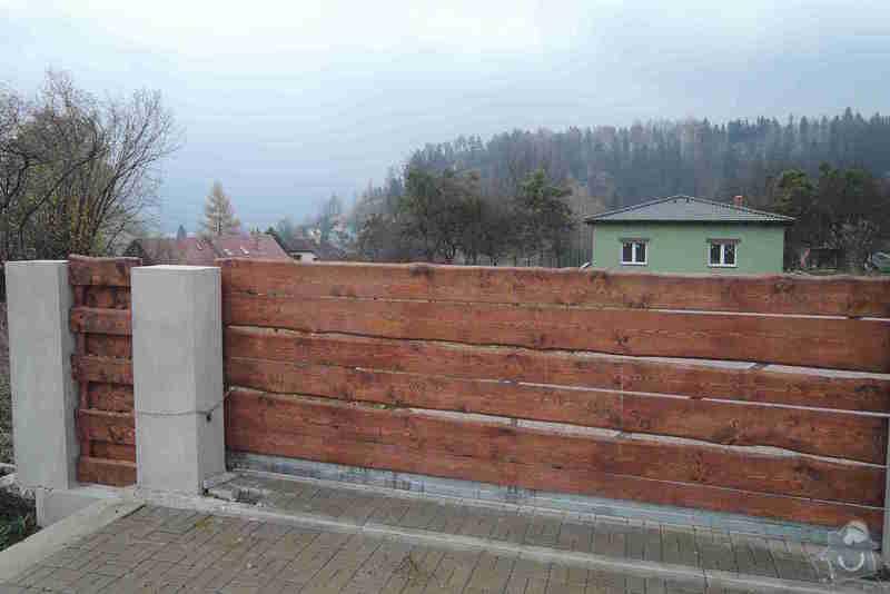 Posuvná brána - pohon: 04