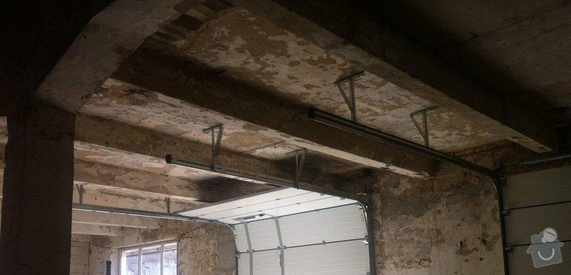 Zednické práce - stropy 200m2 (lepidlo, perlinka, štuk): obrazek