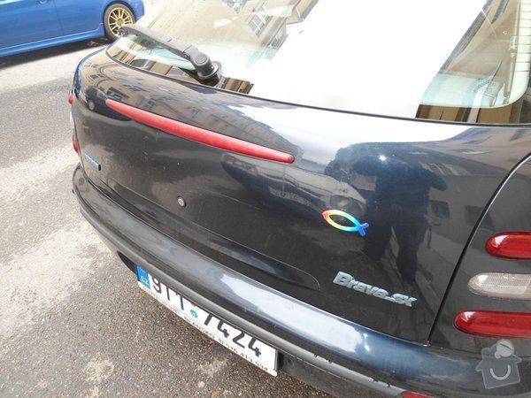 Renovace autolaku Fiat Brava: m_kufr