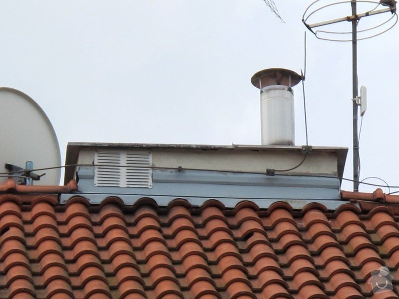 Kontrola/Oprava komínků na střeše bytového domu: Oprava_kominku_3