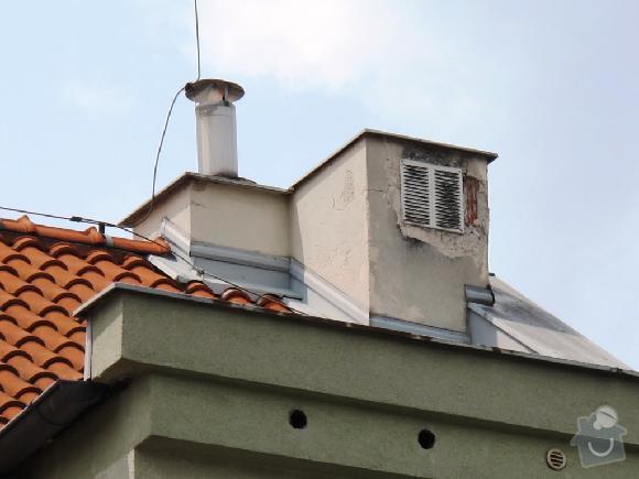 Kontrola/Oprava komínků na střeše bytového domu: oprava_kominku_4