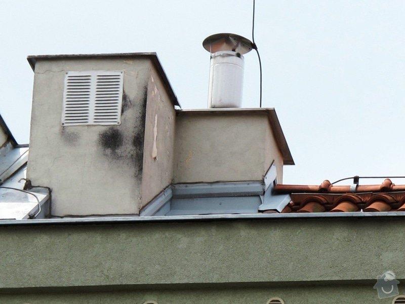 Kontrola/Oprava komínků na střeše bytového domu: Oprava_kominku_2