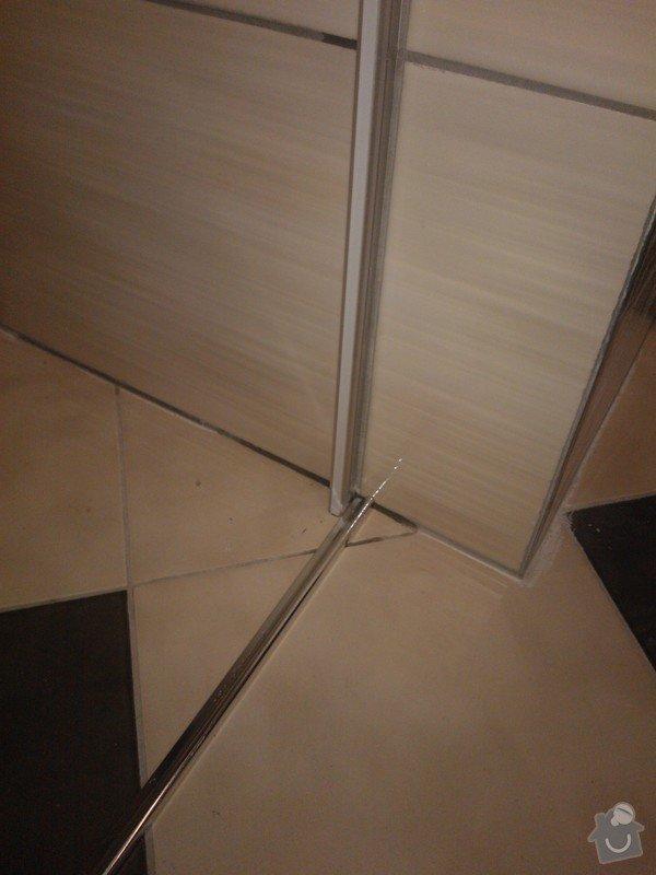 Posuvné celoskleněné dveře,sprchový kout: WP_002188