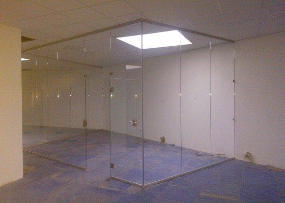 Skleněné zastřešení terasy,skleněné kanceláře