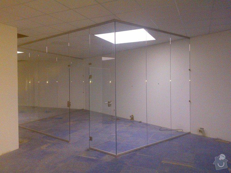 Skleněné zastřešení terasy,skleněné kanceláře: WP_001910