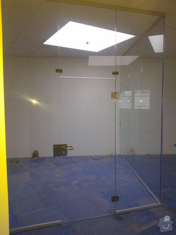 Skleněné zastřešení terasy,skleněné kanceláře: WP_001913