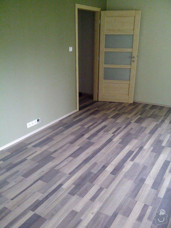 Pokládka laminátové podlahy + Montáž obložek a dveří: IMG_20140617_112349