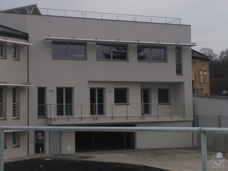 Skleněné zastřešení terasy,skleněné kanceláře: WP_002063