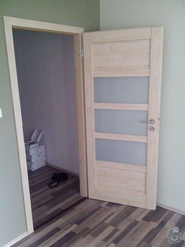 Pokládka laminátové podlahy + Montáž obložek a dveří: IMG_20140617_112407