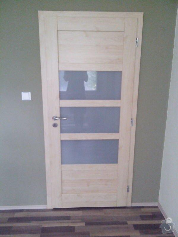 Pokládka laminátové podlahy + Montáž obložek a dveří: IMG_20140617_112425