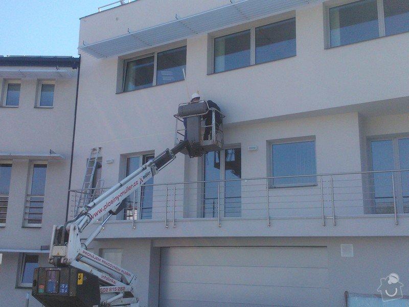 Skleněné zastřešení terasy,skleněné kanceláře: WP_002091