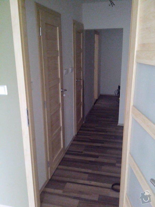 Pokládka laminátové podlahy + Montáž obložek a dveří: IMG_20140617_112438