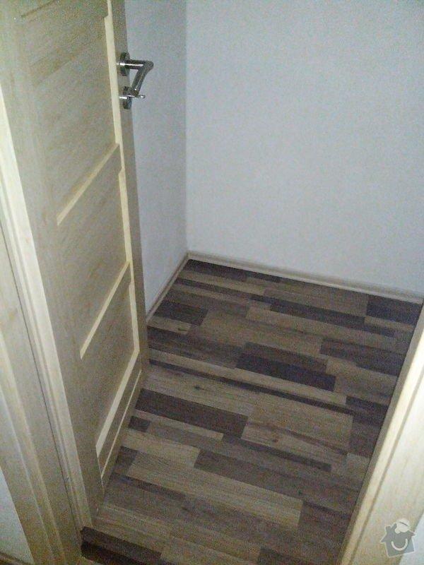 Pokládka laminátové podlahy + Montáž obložek a dveří: IMG_20140617_112521