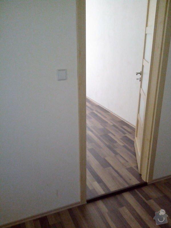 Pokládka laminátové podlahy + Montáž obložek a dveří: IMG_20140617_112532