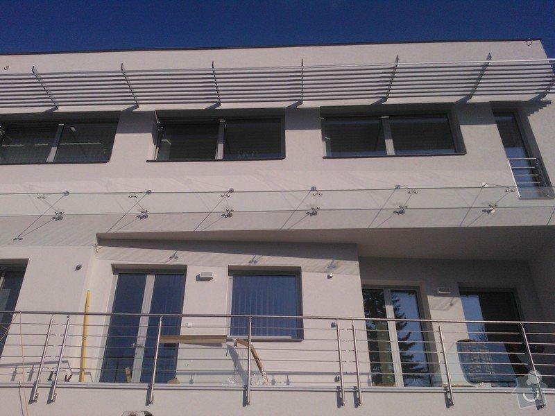 Skleněné zastřešení terasy,skleněné kanceláře: WP_002099