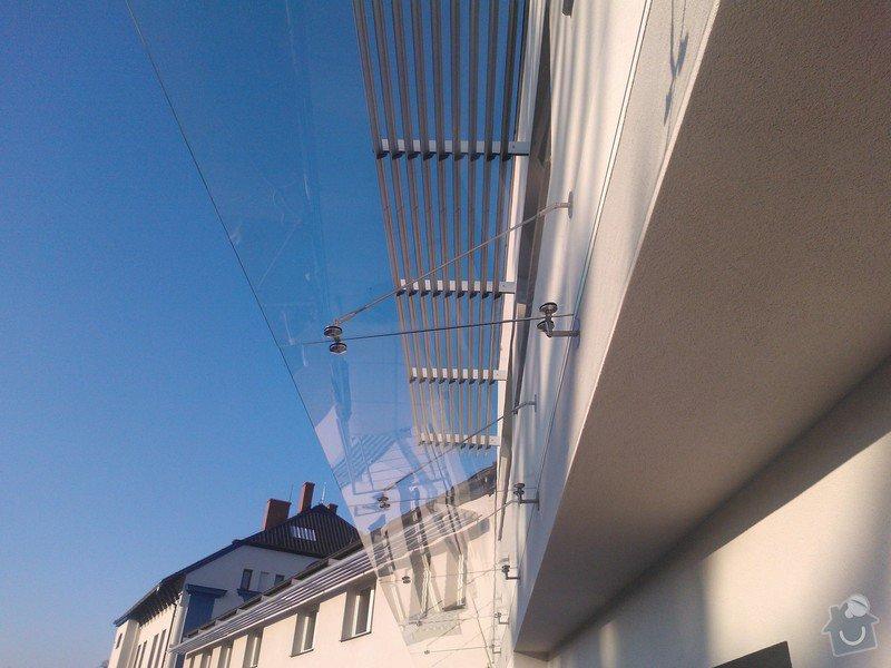 Skleněné zastřešení terasy,skleněné kanceláře: WP_002105