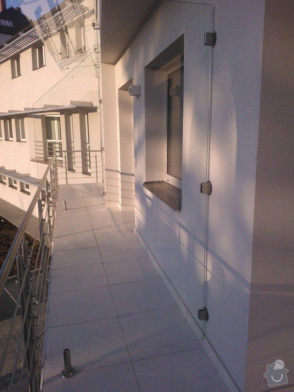 Skleněné zastřešení terasy,skleněné kanceláře: WP_002106