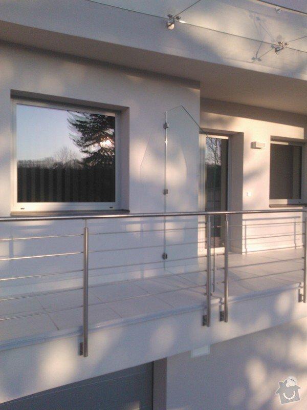 Skleněné zastřešení terasy,skleněné kanceláře: WP_002107
