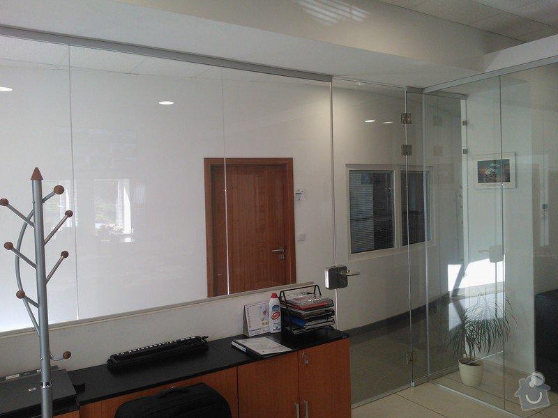 Skleněné zastřešení terasy,skleněné kanceláře: WP_002175